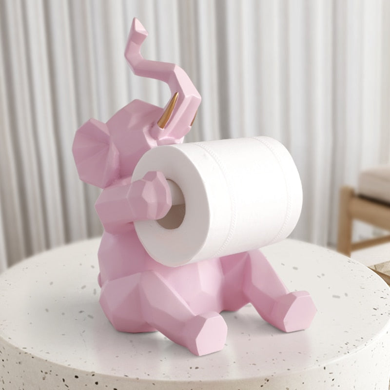 Animal Art Tissue Roll Holder