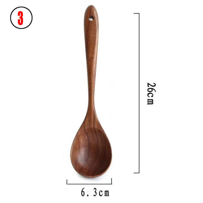 Natural Kitchen Utensil Set