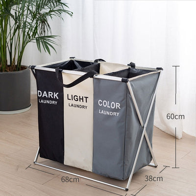 Labelled Laundry Hamper