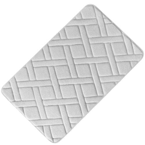 Criss Cross Bath Mat