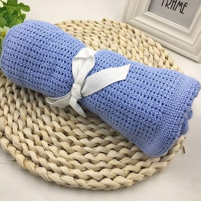 Thin Knit Baby Blanket