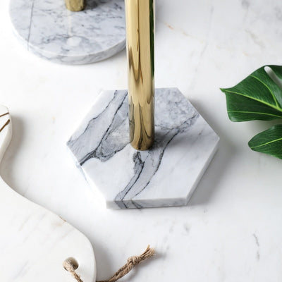 Marble Tissue/Paper Towel Holder