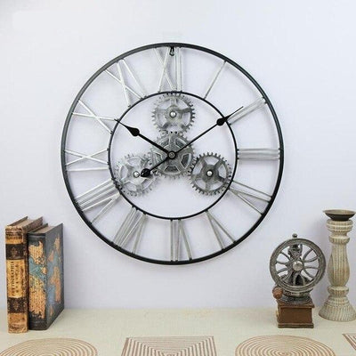 Classic Gear Wall Clock