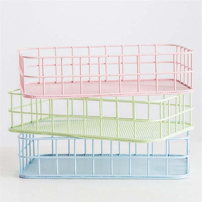 Colourful Wire Baskets
