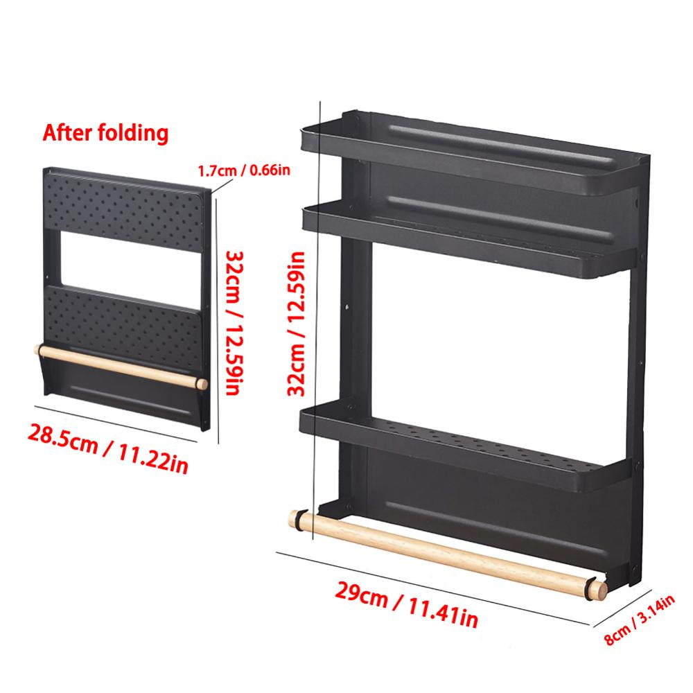 Foldable Magnetic Shelf