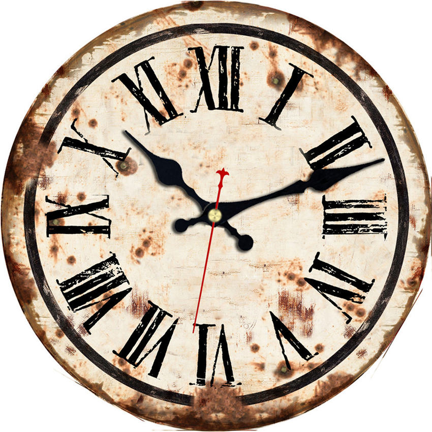 Roman Numeral Vintage Wall Clocks
