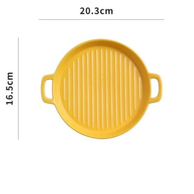 Griddle Round Serving Tray