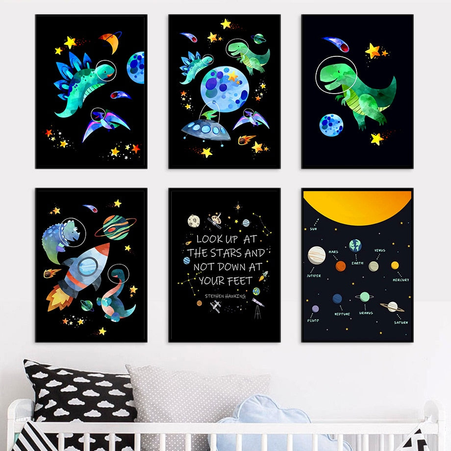 Art Series - Space Dinosaurs
