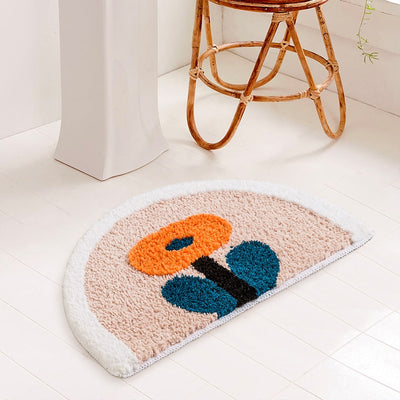 Floral Time Bath Mat
