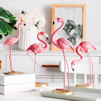 Pink Flamingo Decorative Ornament
