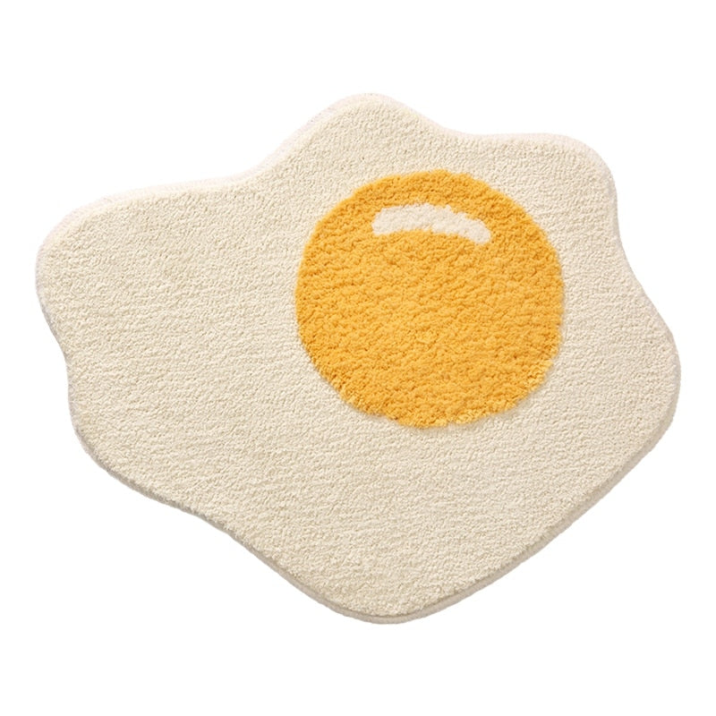 Egg Bath Mat
