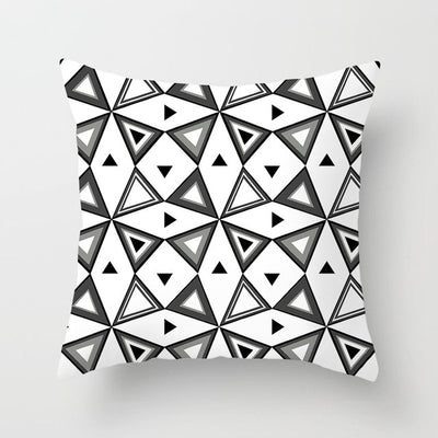 Black Geometric Collection