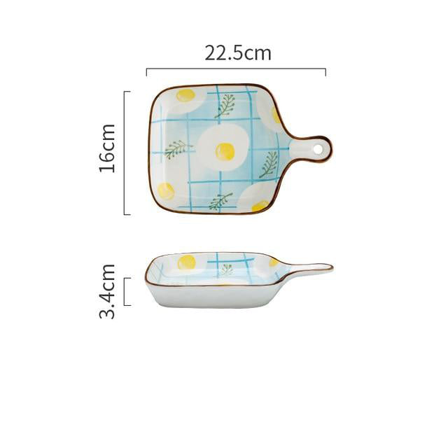 Summer Print Ceramic Baking Pans
