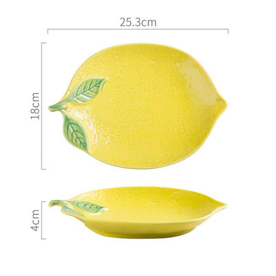 Lemon Squeeze Servingware