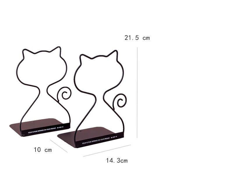2 Piece Book Ends