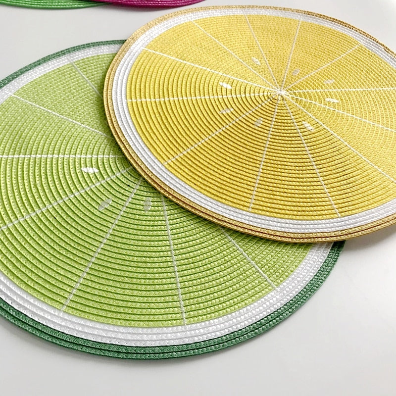 Fruity Placemats