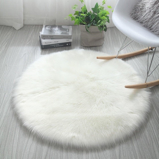 Faux Fur Fluffy Rug