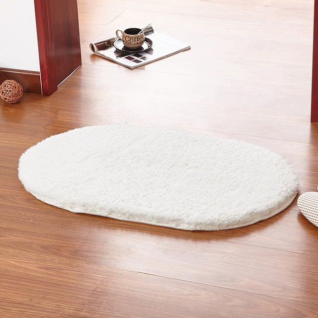 Plush Mat - Oval