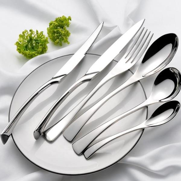 Stylish Silver Cutlery (2 Piece Sets)