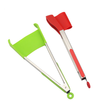 2 in 1 Spatula Tongs - The Decor House