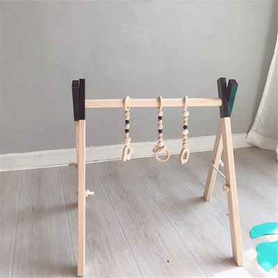 Wooden Baby Play Gym