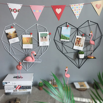 Heart-Shaped Photo Grid