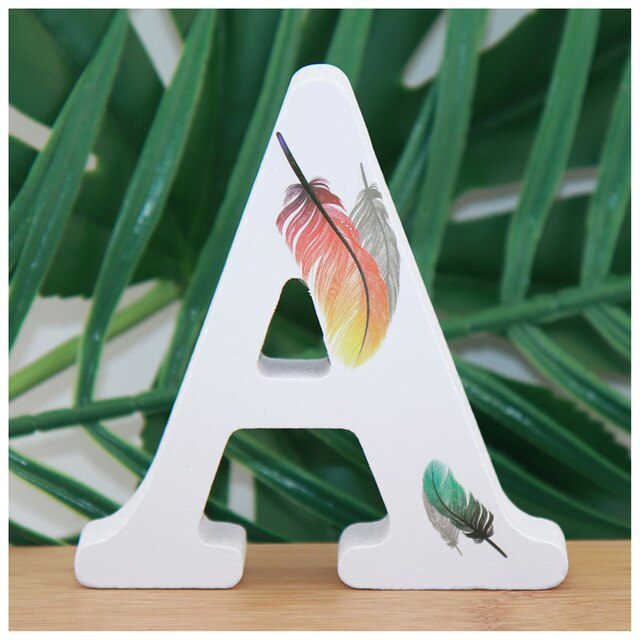 Alphabet Letters - Feather Edition