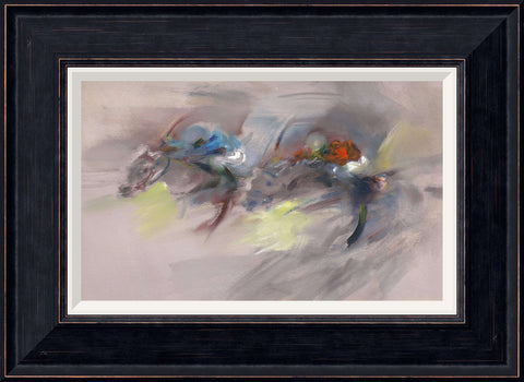 Tabitha Salmon Racing Study framed