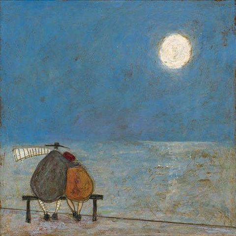 Sam Toft It's Only a Pretty Moon signed art print