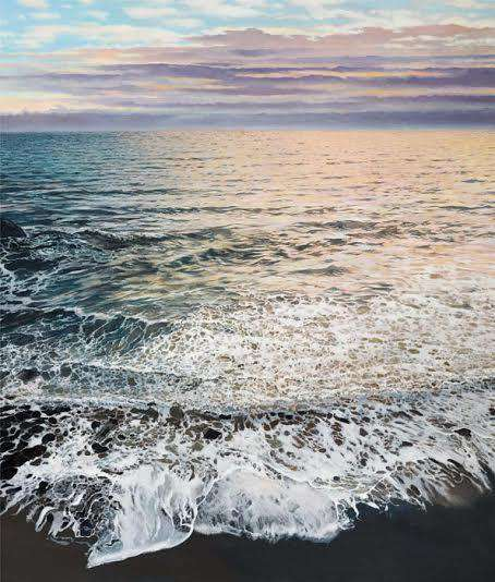 Ron Bolt Evening Calm Mounted
