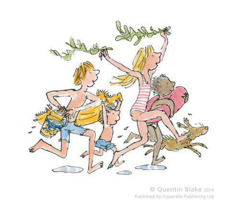 Quentin Blake Down to the Sea art print