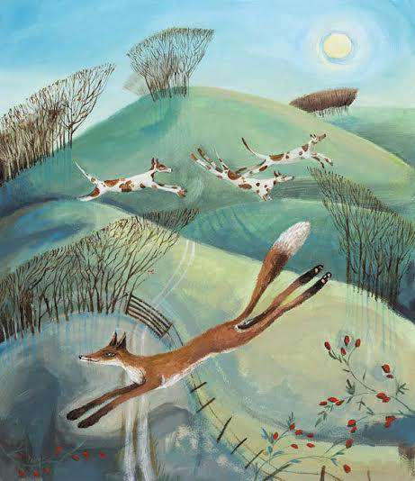 Carolyn Pavey Foxing the Hounds
