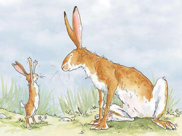 Anita Jeram Guess How Much I Love You Tiptoes