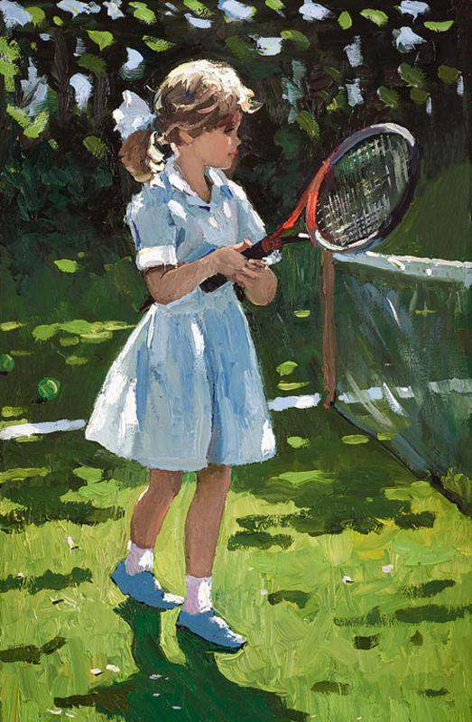 Sherree Valentine Daines Playful Times I board