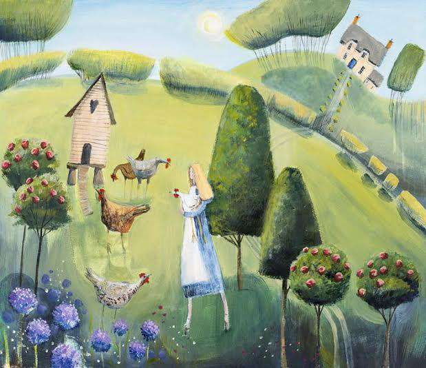 Carolyn Pavey Country Life mounted