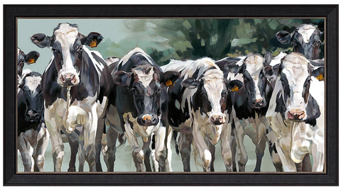 artist proof cows british wildlife farm animals