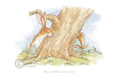 Anita Jeram-Guess How Much I Love You, I Love You All The Way Up To My Toes