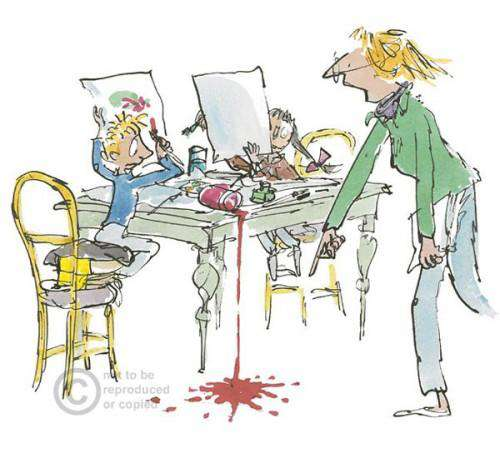 Sir Quentin Blake Simpkin That mounted