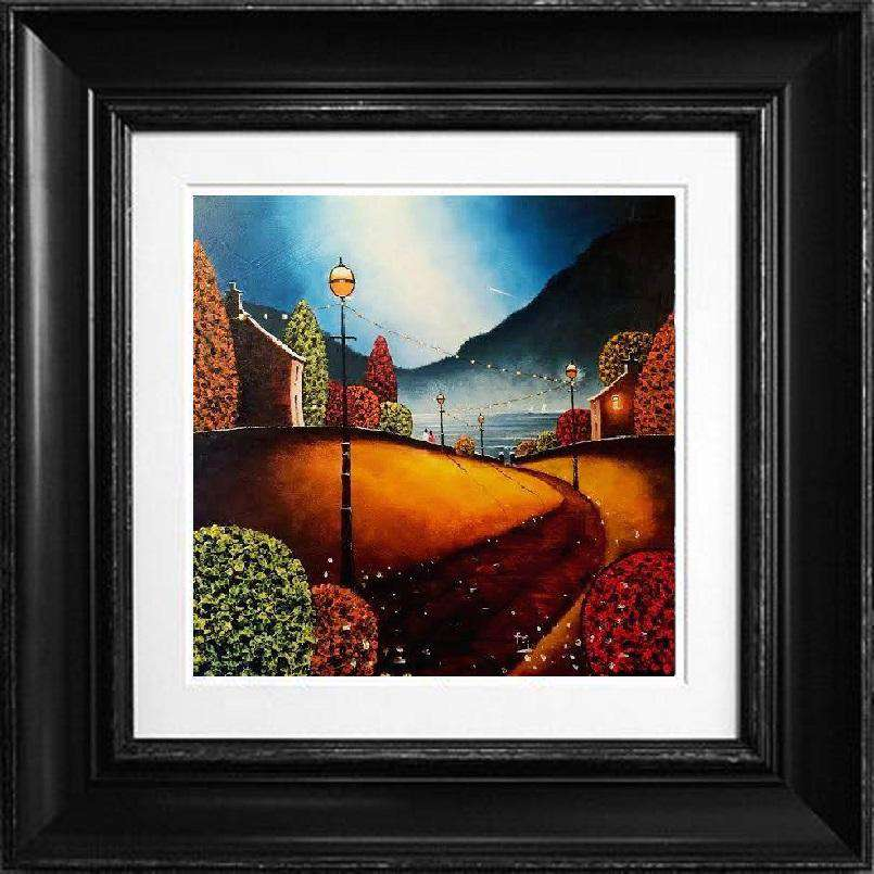 Tony Gittins The Road To Our Dreams framed