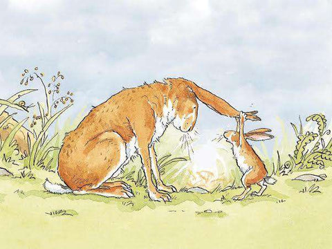 Anita Jeram Guess how much I love you mounted