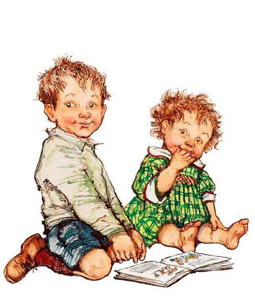Shirley Hughes Alfie & Annie Rose Reading