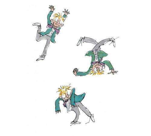 Sir Quentin Blake Simpkin Silly mounted