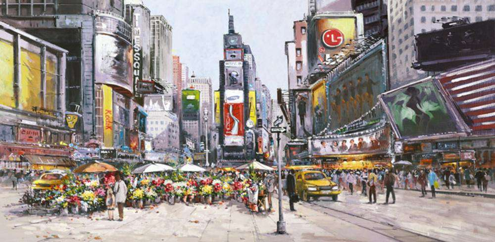 Henderson Cisz-Times Square in Bloom