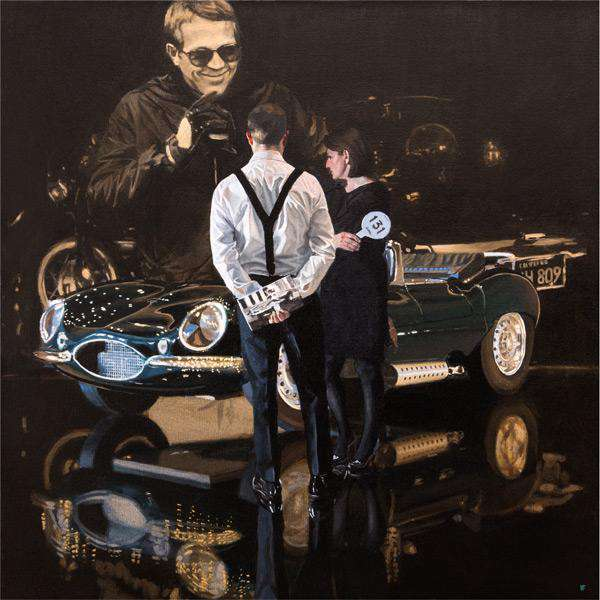 Iain Faulkner Car Auction, Jaguar XKSS