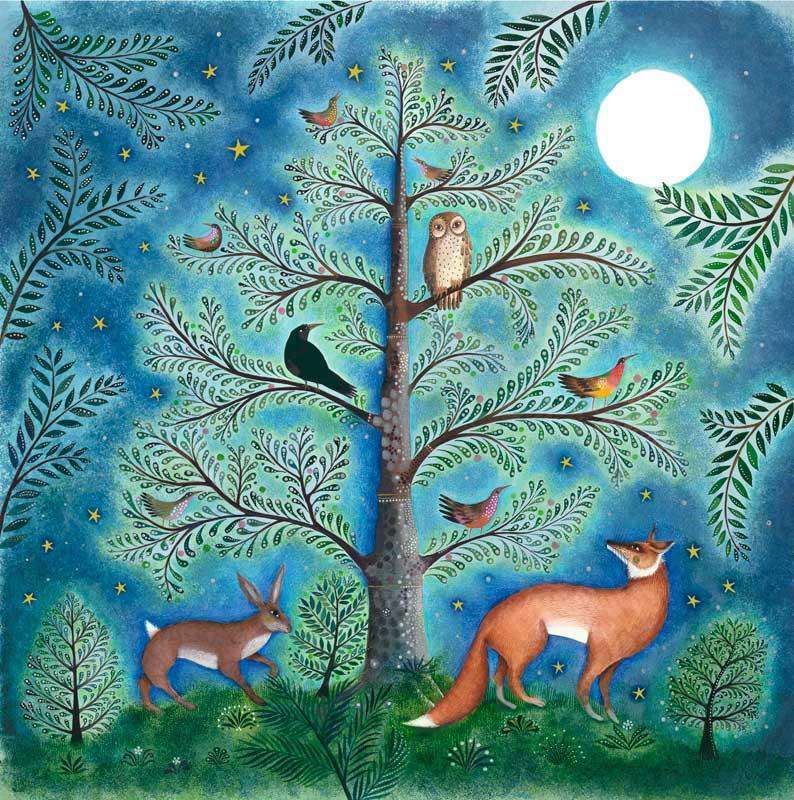 Jane Ray Moonlit Clearing