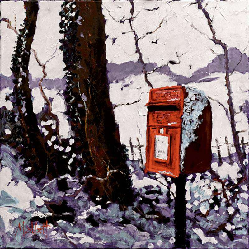 Timmy Mallett-Snowy Post Box Image