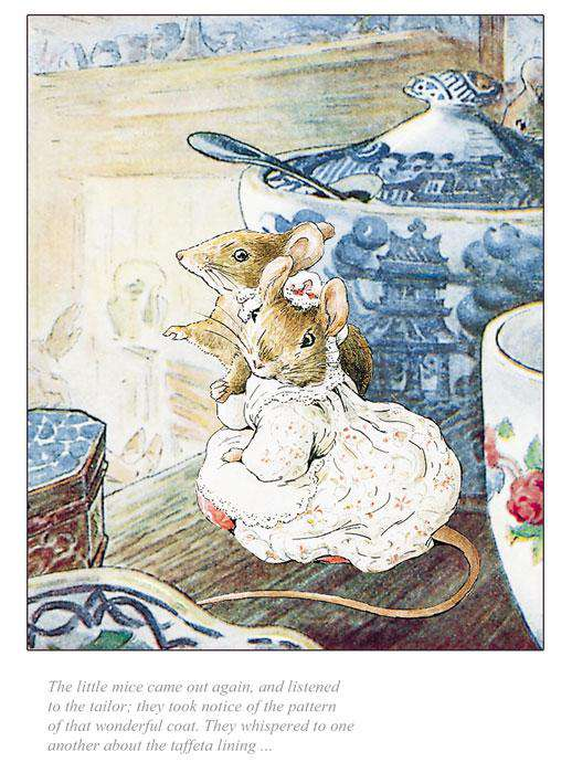 Beatrix Potter The Little Mice Came Out Again