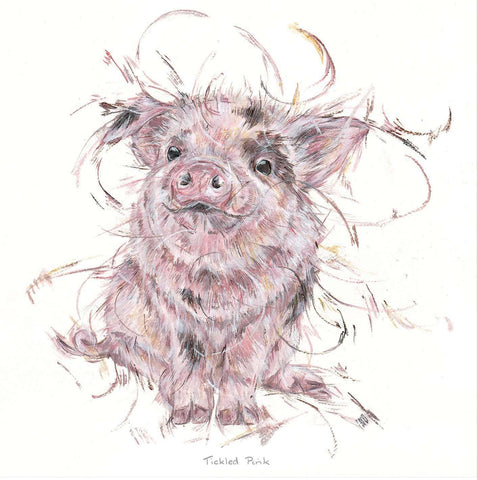 Tickled Pink, limited edition print by Aaminah Snowdon