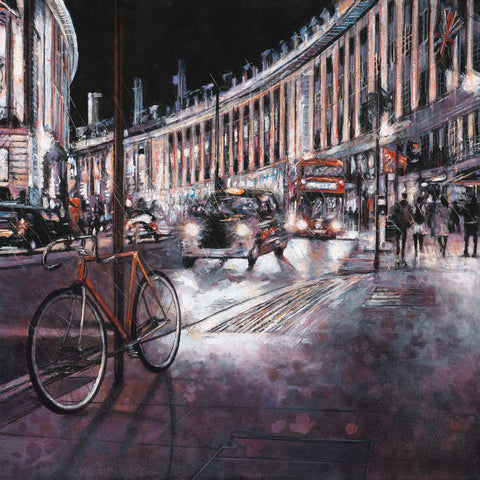 Alena Carvalho Regency Nights london cityscape
