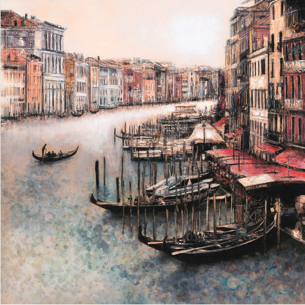Alena Carvalho Grand Canal Venice canvas limited edition art print